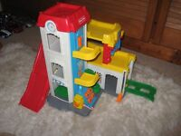 Toy garage by Fisher Price
