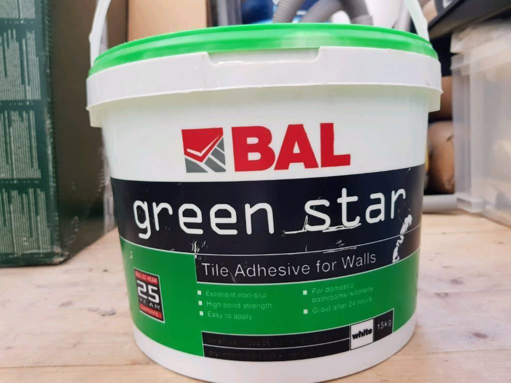 Bal greenstar tile adhesive in croydon london gumtree bal greenstar tile adhesive dailygadgetfo Choice Image