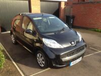 2009 Toyota Aygo 1.0 5dr and 2010 10-plate Peugeot 107 1.0 Urban 5dr low miles Mot November 2018