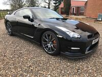 PROM CAR HIRE / wedding Event ---- Nissan GT-R gtr ( black ) 2012 Driver included
