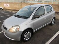EXCELLENT EXAMPLE YARIS 988CC-FULL MOT-ONLY 65,000 MILES FROM NEW!!=£695 IDEAL 1ST CAR OR ETC!!