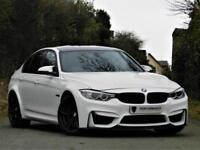 STUNNING! (2014) BMW M3 SALOON SERIES 3.0 DTC -M PERFORMANCE CARBON -SAT NAV HEADS UP- PX WELCOME