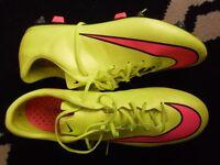 nike mercurial vapor pro football boots mint 10s