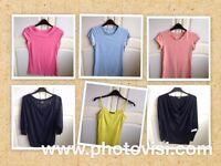 Womens size 10 various tops bundle - 6 tops