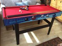 Pool Table 138x70x77cm