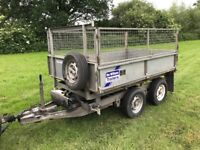 Ifor Williams 8x5 Tipper Trailer Flat Bed