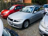 Bmw 320 diesel touring 06 reg low mileage excellent condition drives perfect px welcome AA approved