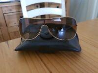 Genuine unisex Ray Ban Aviator sunglasses