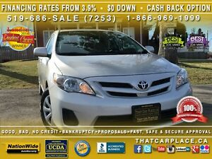 2013 Toyota Corolla $51Wk-Bluetooth-Cruise-Satellite