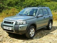 2005 55 Land Rover FREELANDER 2.0 TD4 SE 4x4, New MOT, and Service, New Brakes All-round, Multi CD