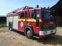Volvo FL6 Fire Engine Wedding car/ limo business