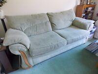 Sage green Large 2 Seat Settee