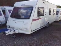 2010 Elddis Xplore 544 4 Berth Fixed Bed Lightweight Caravan