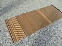Solid oak wooden blinds