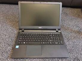 """Acer ES15, 15.6"""" Laptop with Intel Pentium, 4GB RAM & DVDRW - Black"""