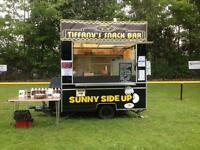 Catering trailer 8ft X 6ft