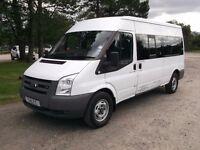 2007 Ford Transit Minibus PSV COIF