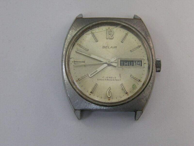 Vintage Belair Watch Day/Date 1960