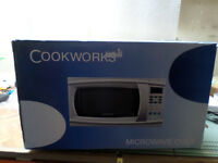 New Cookworks Microwave Oven (GL0005)