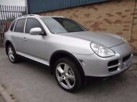 2003 PORSCHE CAYENNE 4.5 S TIPTRONIC S AWD NO RESERVE SOLD AS SPARES OR REPAIRS