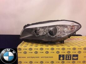 BMW 5 Series F10 F11 Headlight Headlamp Halogen Passenger Near Side GENUINE NEW