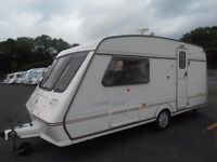 1998 fleetwood colchester 2-3 berth , awning £2400