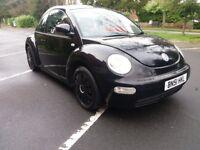 Volkswagen beetle 1.6 black edition