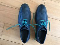 Shoes - Cole Haan - Dark blue in leather - Original price GBP 350