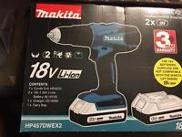 Makita Cordless 18V Combi Drill