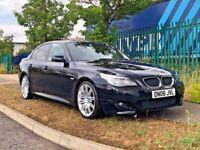 "2006 BMW 520D M SPORT CREAM LEATHERS 19"" SPYDER ALLOYS 525D 530D 535D"