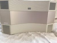 Bose wave cd/radio with remote control