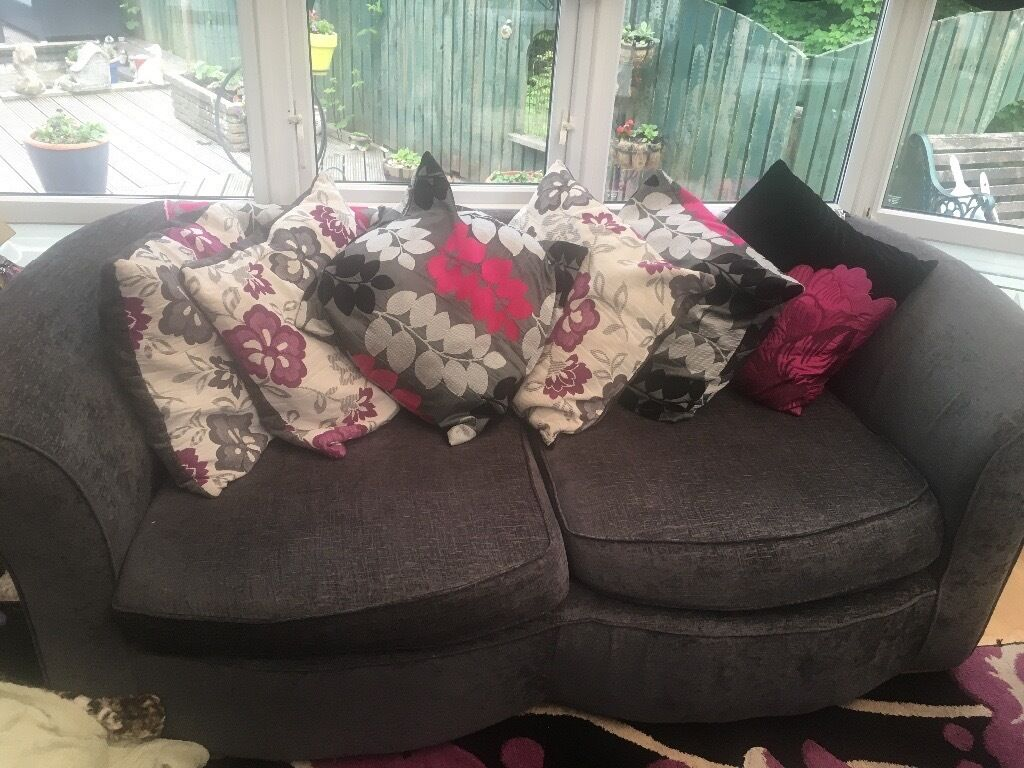 Good condition sofa non smoking house. 3 seater,2seater and swivel chair