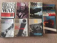 Purnell History of world war 2 magazines full set