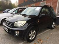 "2004 TOYOTA RAV 4 * 2.0 NRG "" 3 DOOR * LOW MILES * SERVICE HISTORY * LONG MOT * PART EX * DELIVERY"
