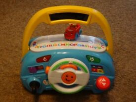 Fisher Price Laugh and Learn Puppy's Driver