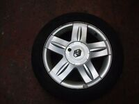 Renault Clio wheel and tyre
