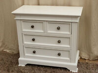Buxton White Chest of Drawers