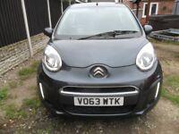 2013 citroen c1 vtr grey low miles light damage repaired free road tax cheap insurance bargain £2150