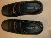 MENS WESTWIND BLACK FORMAL WORK SHOES SIZE 10 ONLY WORN ONCE