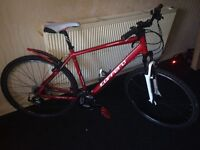 Carrera crossfire ltd mountain bike