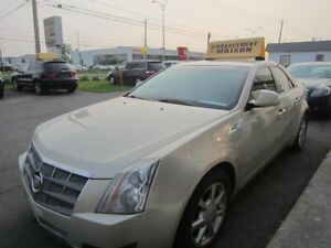 2008 Cadillac CTS  cuir 139000km financement epot 300$