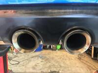 Mk5 R32 mk6 R full exhaust milltek non res