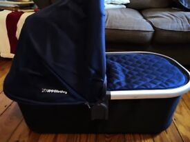 Uppababy Universal Carrycot, (Colour blue- Taylor)