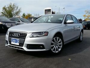2012 Audi A4 2.0T QUATTRO- AWD LUXURY SEDAN