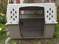 Extra Large Dog Crate Kennel - two doors