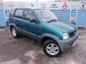 PART X DIRECT OFFERS A DAIHATSU TERIOS 1.3 WITH A NEW MOT AND SERVICE!!!