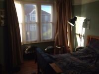 Furnished double room available 1 July in chilled houseshare in Horfield