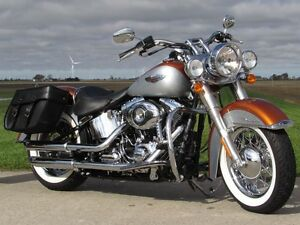 2014 harley-davidson FLSTN Softail Deluxe  103  2,900 KM and ONL London Ontario image 1