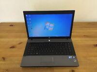 "HP 620 Laptop 15.6"" Intel Core 2 Duo 4GB Ram 150GB Windows 10 HDMI"