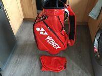 Yonex custom fit golf tour cart bag brand new